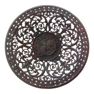Pierced Metal Plate