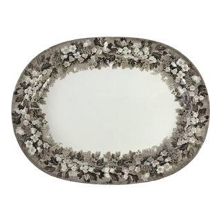 19th C. Wedgwood Creamware Platter For Sale