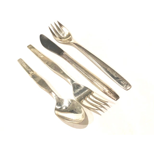 Silver United Airline Vintage Flatware - For Sale - Image 8 of 8
