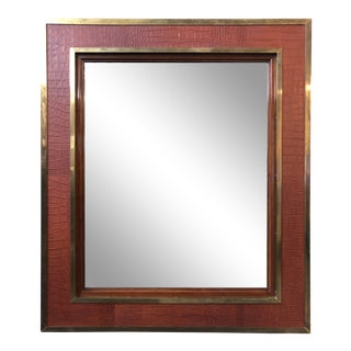 Ralph Lauren Home Modern Equestrian Mirror For Sale
