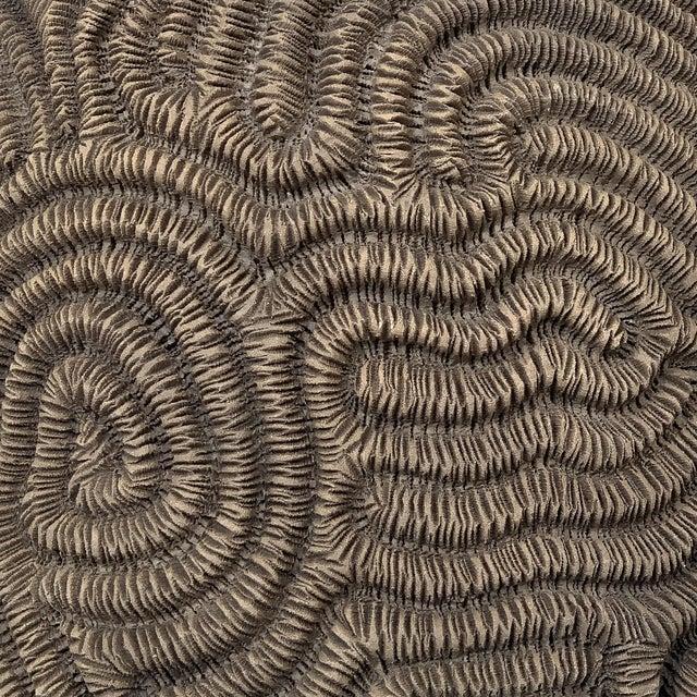 Textured Studio Pottery Terracotta Vase For Sale - Image 11 of 13