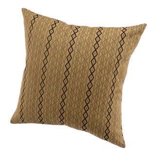 Modern Handwoven Mbake Pillow For Sale
