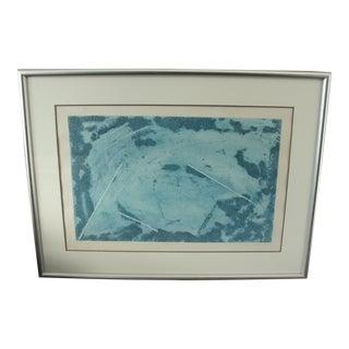 "Vintage Paulino Rolstad ""Storm"" Engraving For Sale"