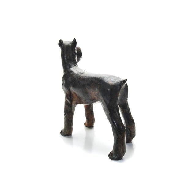 1920s Bronze Scottie Dog Sculpture - Image 6 of 9