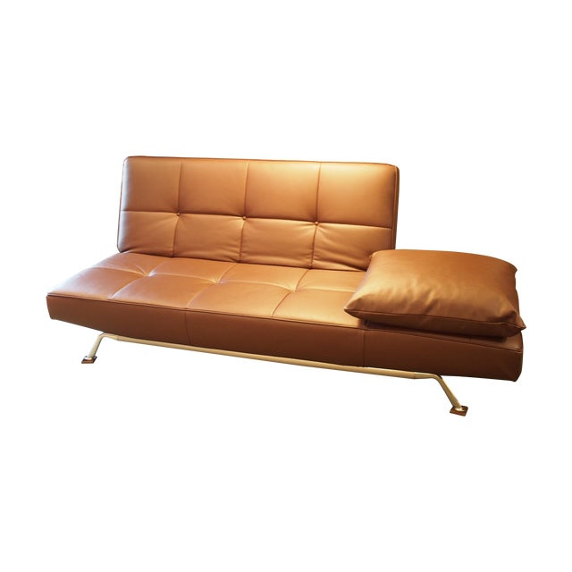 ligne roset brown smala sofa and two chaises chairish. Black Bedroom Furniture Sets. Home Design Ideas