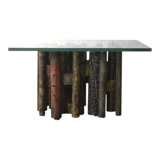 PAUL EVANS Occasional Pipe Table ca. 1965 For Sale