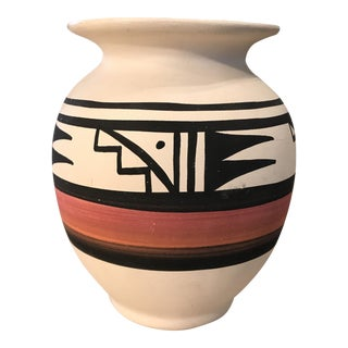 Tribal Painted Handmade Pottery