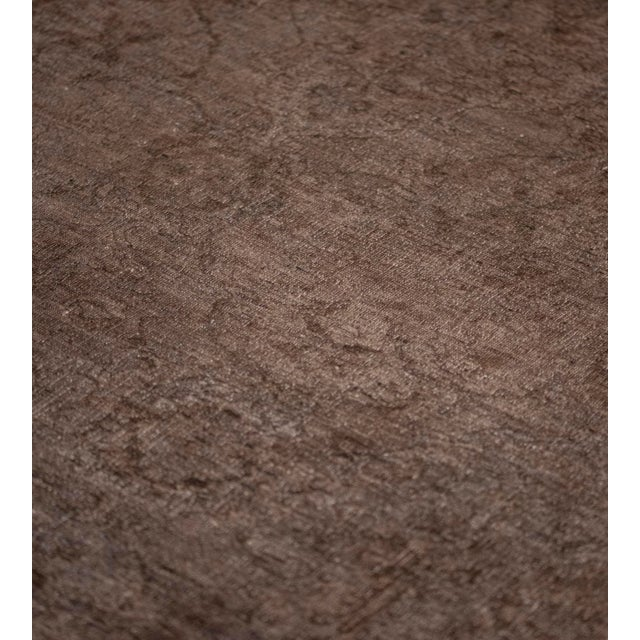 Textile Handwoven Wool Agra Style Rug For Sale - Image 7 of 8