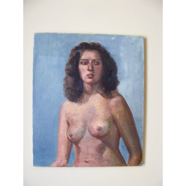 Nude Female Portrait Painting For Sale - Image 4 of 4