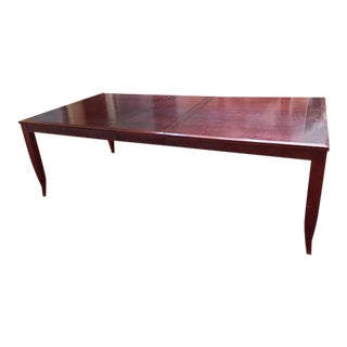 Solid Wood Handmade Dining Table