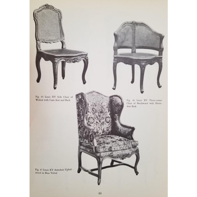 French Provincial Decorative Art by Catherine Oglesby 1951 For Sale - Image 4 of 8