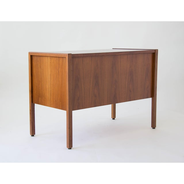 Jens Risom Compact Walnut Credenza - Image 7 of 8