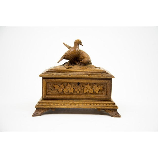 Black Forest Water Bird Jewelry Box - Image 2 of 10