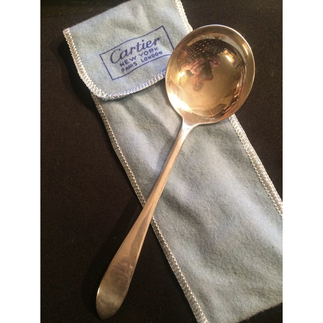 Vintage 1960s Cartier Sterling Silver Ladle Spoon - Image 6 of 11