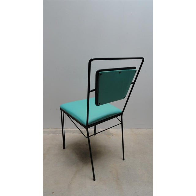 Atomic Age Mid-Century Iron Dining Set - Image 11 of 11