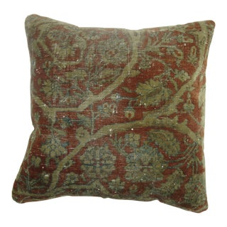 19th Century Kashan Pillow For Sale