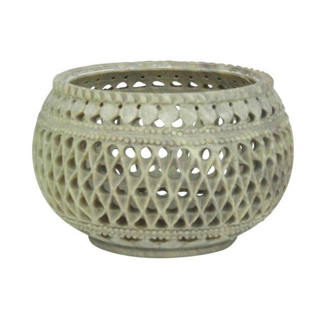 Marble Pierced Bowl - Image 1 of 4