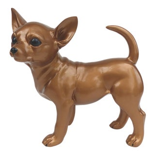 Life-Size Dog Figure Bubble the Chihuahua Puppy by Karin Akerman -Frey For Sale