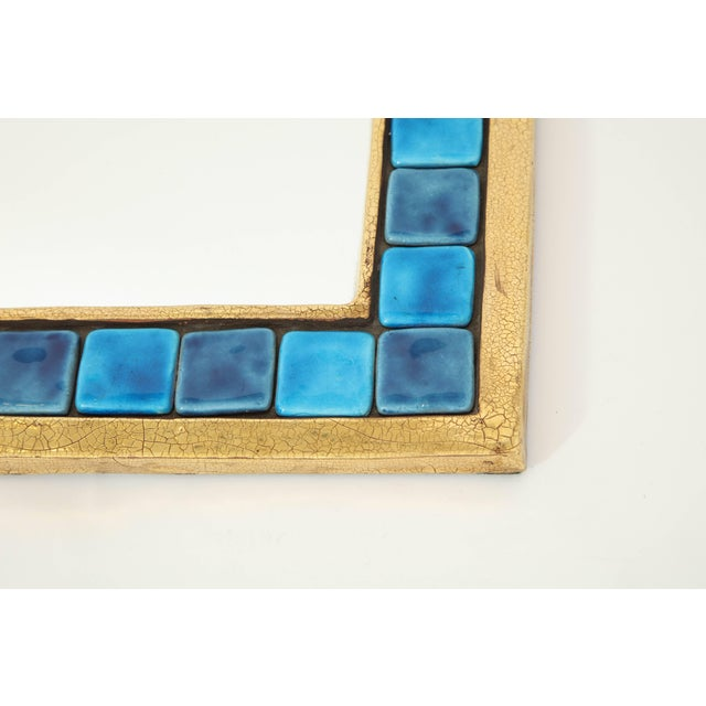 Mid 20th Century Francois Lembo Mirror For Sale - Image 5 of 9