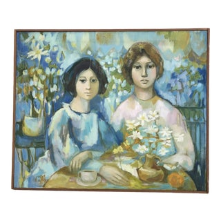 """Two Sisters"" by Susan Gaines For Sale"