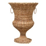 Image of Large Wicker Urn For Sale