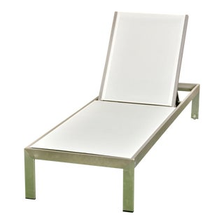 Palm Springs Outdoor Aluminum Lounge Chair For Sale