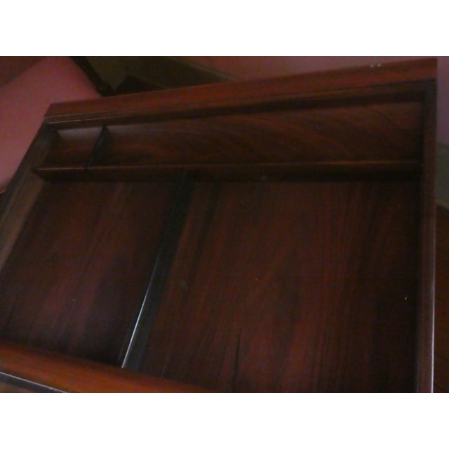 Dyrlund Rosewood Executive Desk - Image 3 of 10
