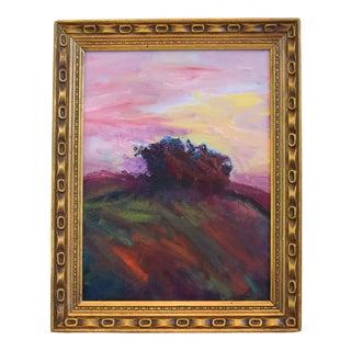 Original Juan Pepe Guzman Ojai California Landscape Oil Painting For Sale