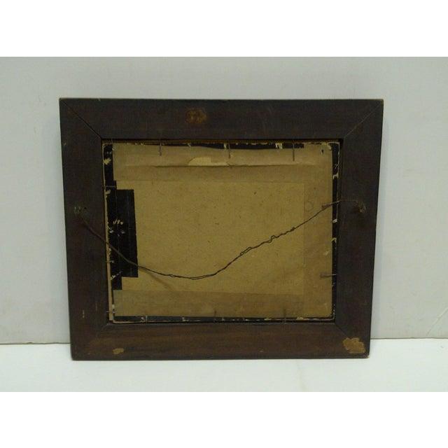 """Vintage Framed Black & White Photograph """"Old Oil Rig"""", 1880 For Sale - Image 4 of 5"""