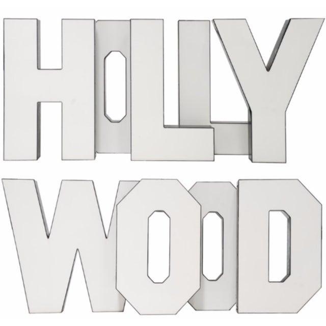 "Vintage ""Hollywood"" Letters - Set of 9 - Image 2 of 5"