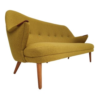 1960s Danish Completely Reupholstered Sofa For Sale