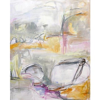 """""""Migration 1"""" by Trixie Pitts Extra-Large Abstract Oil Painting For Sale"""