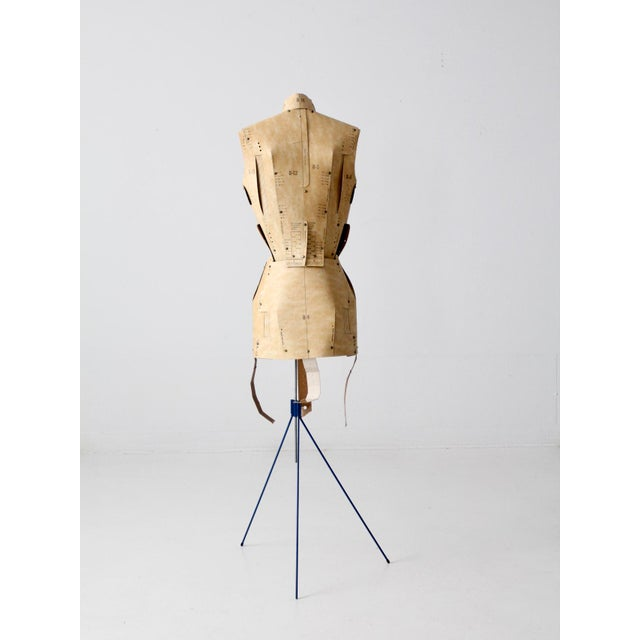 Farmhouse Mid-Century Adjust-O-Matic Dress Form For Sale - Image 3 of 12