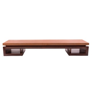 Paul Frankl Mahogany and Rosewood Cocktail Table For Sale
