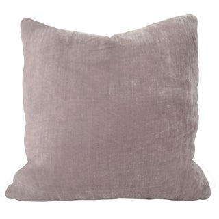Kravet Silk Velvet Viola Pillow