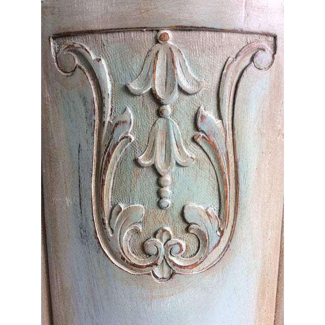 1930s 1930s French Cottage Painted Buffet For Sale - Image 5 of 13