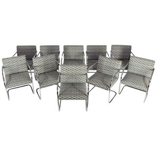 Tubular Brno Chairs by Knoll For Sale