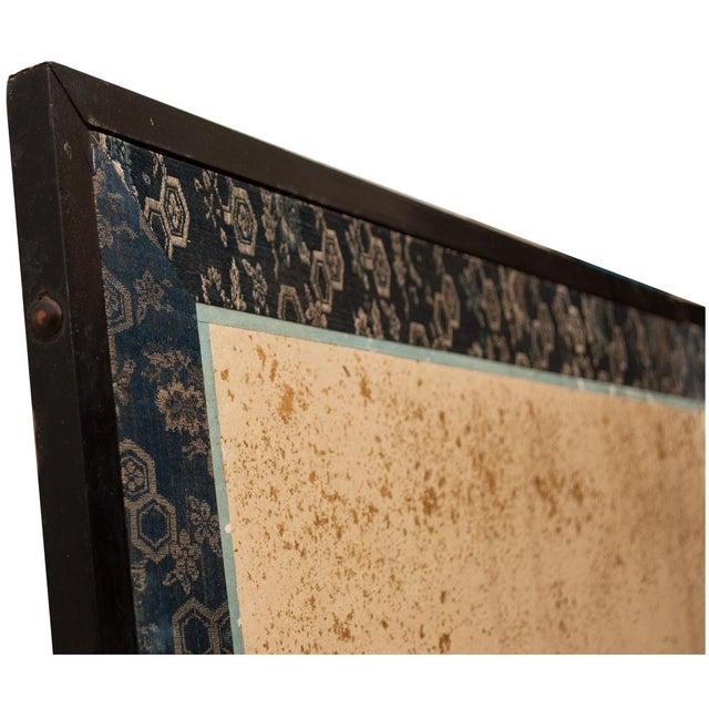 Edo Era Monumental Japanese Six-Panel Byobu Screen For Sale - Image 10 of 13