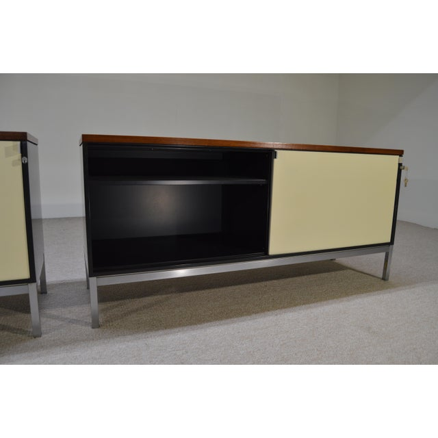 Art Metal for Knoll Int. Mid-Century Office Cabinets - A Pair - Image 7 of 10
