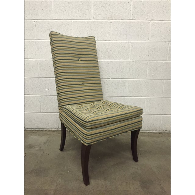 Striped R. Jones Dining Chairs - Set of 6 - Image 5 of 9