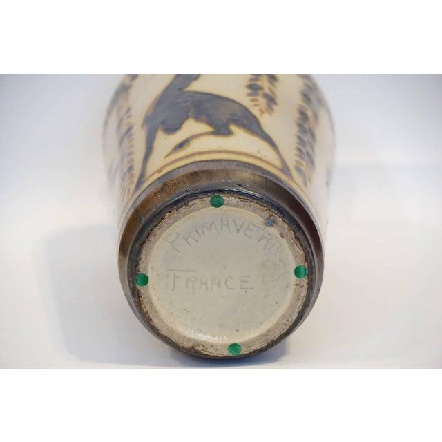 Primavera Glazed Ceramic Vase For Sale - Image 9 of 9