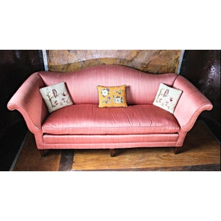 Antique Chippendale Silk Down Sofa Preview