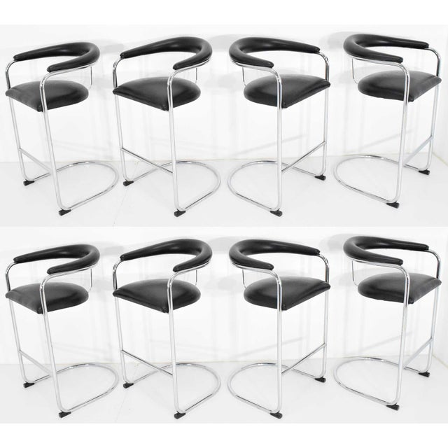 Anton Lorenz for Thonet Bar Stool For Sale - Image 10 of 11