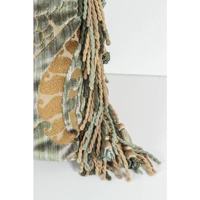 Traditional Traditional Luigi Bevilacqua Silk Velvet Pillows - a Pair For Sale - Image 3 of 7