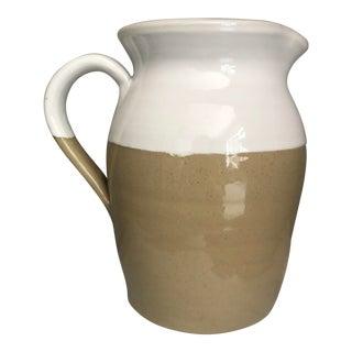 Vintage Ceramic/Stoneware Pitcher For Sale