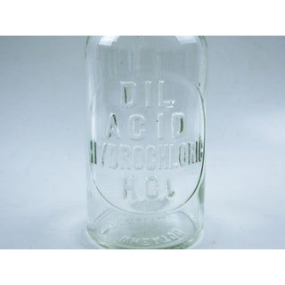 Vintage Apothecary Bottle Embossed Preview