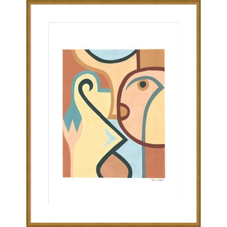 "Large ""Three"" Print by Sia Dzahn, 38"" X 50"" For Sale"