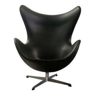 1950s Vintage Original Arne Jacobsen Egg Chair For Sale