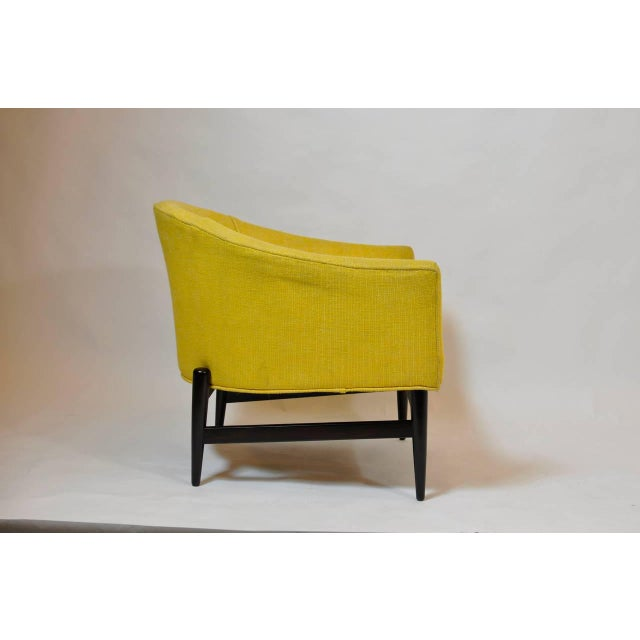 Mid-Century Modern Petite Lounge Chair Designed by Larence Peabody For Sale - Image 3 of 5