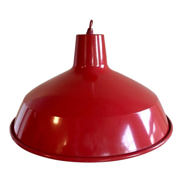 Red Barn Pendant Light - Image 1 of 7